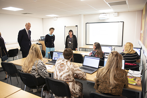 05 HRH with Teaching Assistant Apprentices web